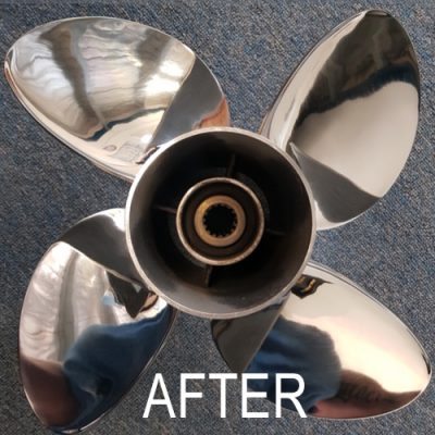 propeller repair after
